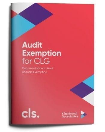 audit exemption clg company law services